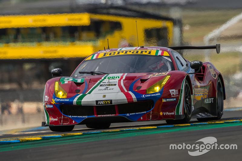 #51 AF Corse, Ferrari 488 GTE: James Calado, Alessandro Pier Guidi, Lucas di Grassi
