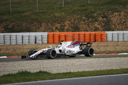 Lance Stroll, Williams FW40 en tête-à-queue