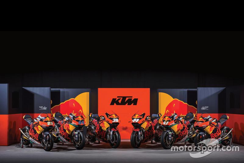 Все мотоциклы KTM в сериях MotoGP