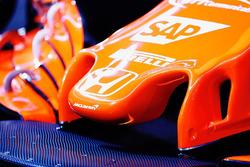 McLaren MCL32 nose detail