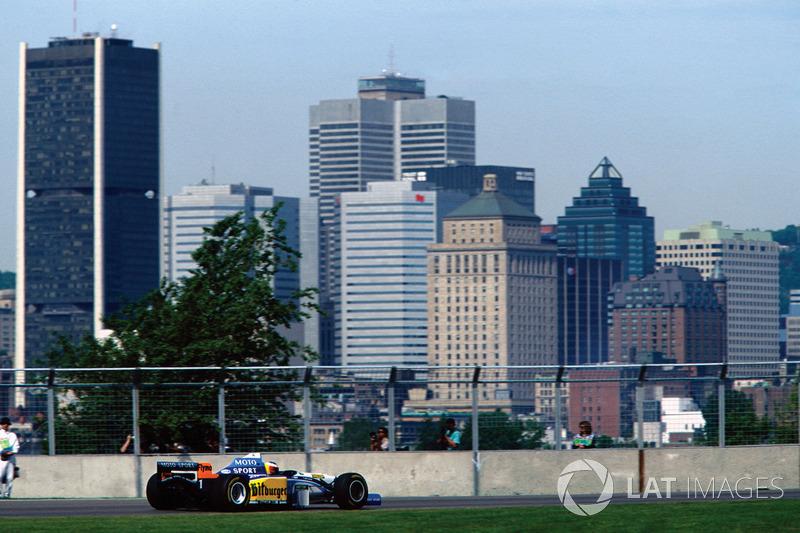9. Canadá 1995, Benetton B195