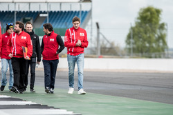 Віталій Петров, Manor during track walk