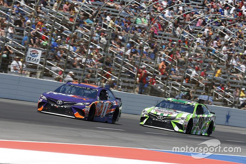 Kyle Busch, Joe Gibbs Racing, Toyota; Kyle Busch, Joe Gibbs Racing, Toyota