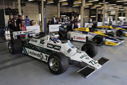 Demonstration eines Williams FW07 von Carlos Reutemann
