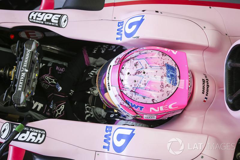 12e : Esteban Ocon (Force India)