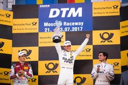 Podium: 1.Maro Engel, Mercedes-AMG Team HWA, Mercedes-AMG C63 DTM; 2. Mattias Ekström, Audi Sport Te