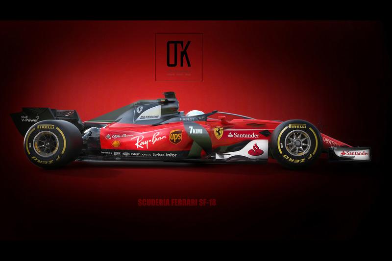Ferrari 2018 Halo Fantezi Konsept Tasarım