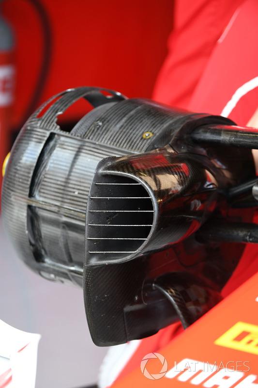 Повітропровід передніх гальм Ferrari SF70H