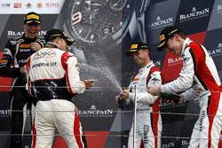 Podium: third place #90 Akka ASP, Mercedes-AMG GT3: Michael Meadows, Raffaele Marciello, Edoardo Mortara