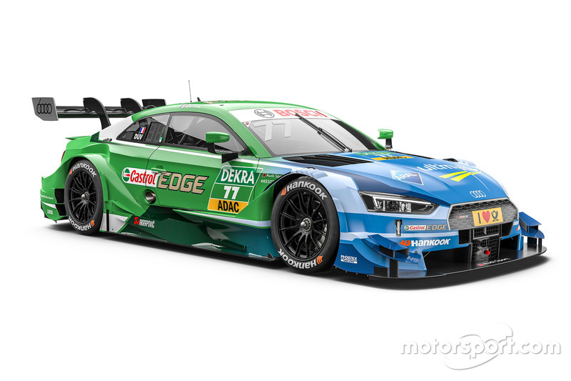 #77: Loic Duval, Audi Sport Team Phoenix, Audi RS 5 DTM