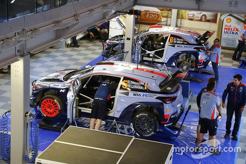Thierry Neuville, Nicolas Gilsoul, Hyundai i20 WRC, Hyundai Motorsport, Dani Sordo, Marc Marti, Hyundai i20 WRC, Hyundai Motorsport