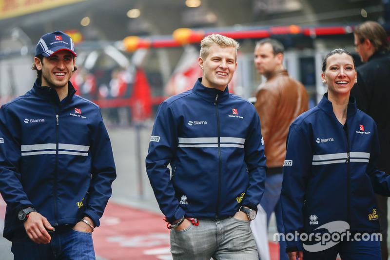 Antonio Giovinazzi, Sauber, Marcus Ericsson, Sauber