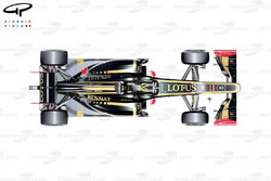 Lotus E20 top view