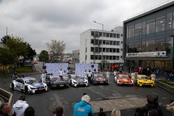 Maxime Martin, BMW Team RBM; Bruno Spengler, BMW Team RBM; Tom Blomqvist, BMW Team RBM; Marco Wittmann, BMW Team RMG; Augusto Farfus, BMW Team RMG; Timo Glock, BMW Team RMG