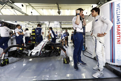 Rob Smedley, Williams, Chefingenieur; Lance Stroll, Williams