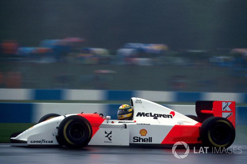 1993: McLaren MP4/8 Ford (пять побед, 2-е место в КК)