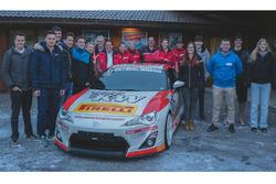 Teilnehmer der zweiten Ausgabe der Swiss Race Academy