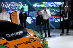 Armando Donazzan, Orange1 Racing owner and young novelist Alessandro 'Spiz' Vezzani