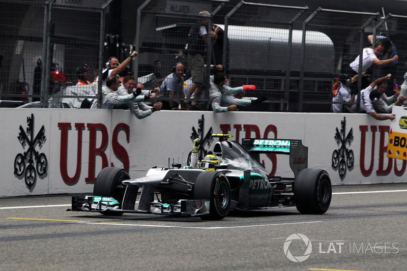 Nico Rosberg, Mercedes AMG F1 W03 (2012)