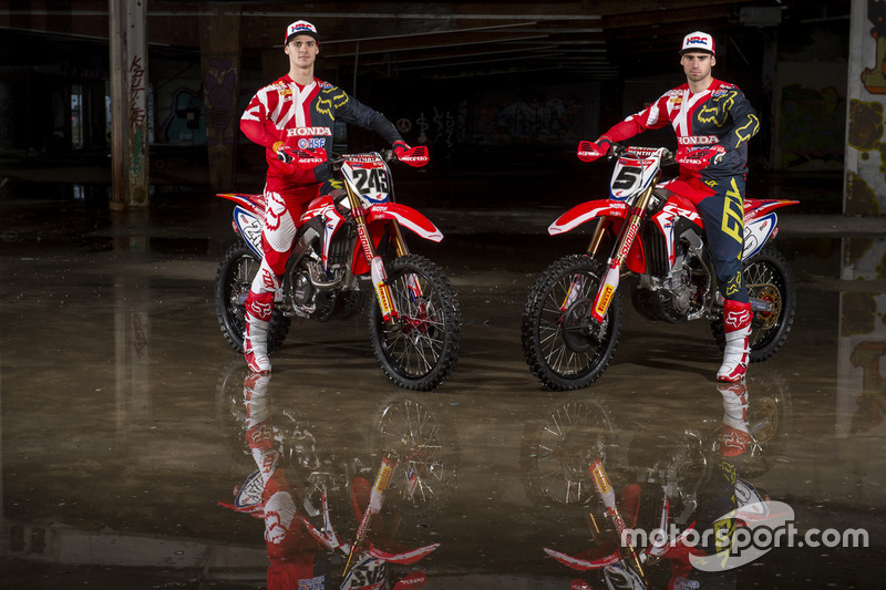Tim Gajser and Brian Bogers, Team HRC