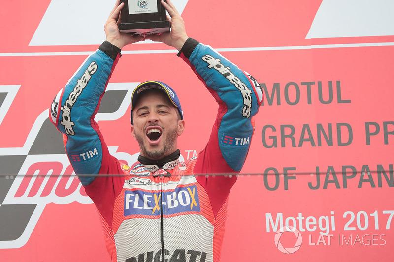 Race winner Andrea Dovizioso, Ducati Team