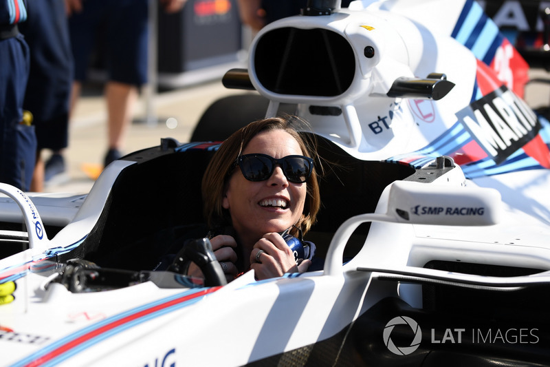 Claire Williams, Vice Team Principal Williams nella Williams FW41