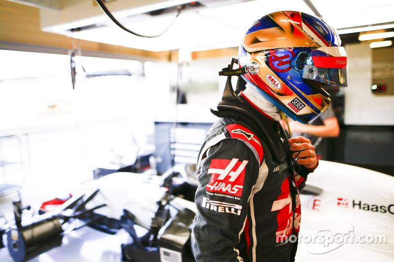 Verliezer: Haas/ Romain Grosjean