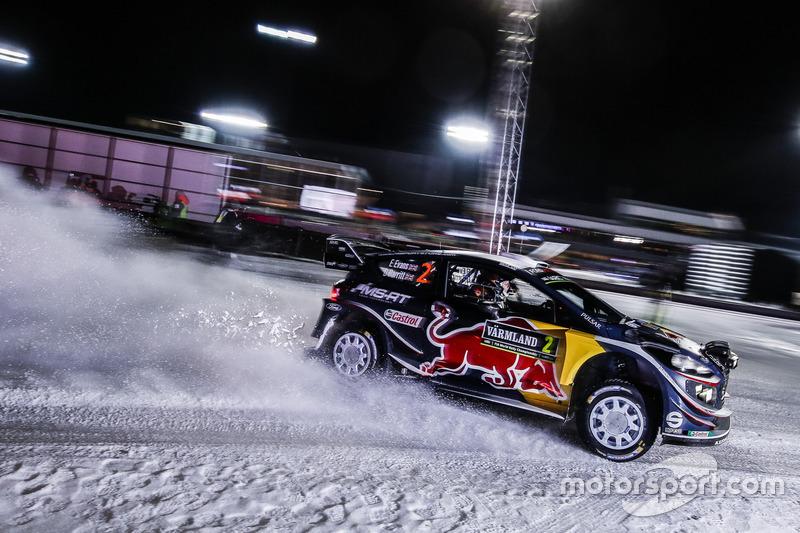 10. Елфін Еванс, Ford Fiesta WRC - 9 очок