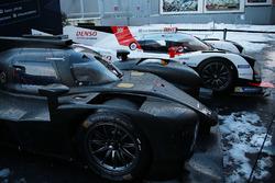 Les voitures du WEC sous la neige à Paris