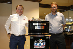 Team owner Richard Childress, Richard Childress Racing with Chip Wile, President Daytona International Speedway