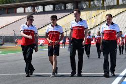 Charles Leclerc, Sauber pist yürüyüşü