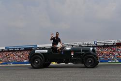 Daniel Ricciardo, Red Bull Racing, at drivers parade
