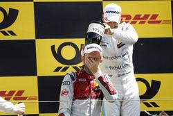 Podyum: Yarış galibi René Rast, Audi Sport Team Rosberg, 2. Gary Paffett, Mercedes-AMG Team HWA