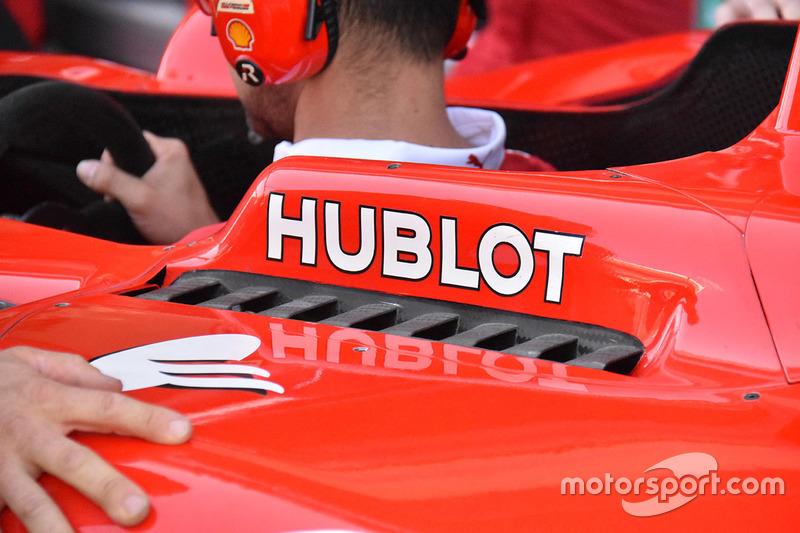 Detalle de refrigeración del Ferrari SF70H
