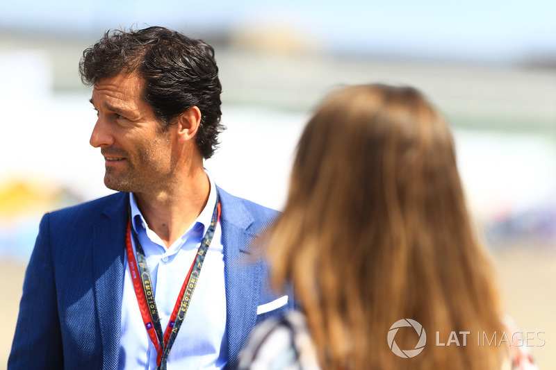 Mark Webber, Australian racing driver