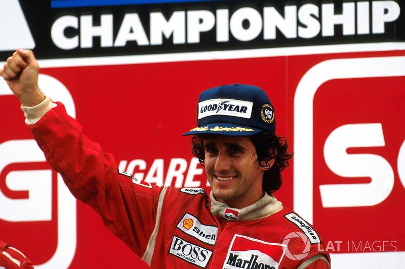 5º Alain Prost (18 victorias desde la pole) (el 54'55 % de sus victorias)