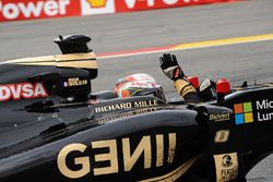 Третє місце Ромен Грожан, Lotus F1 E23