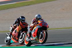 Marc Marquez, Repsol Honda Team, MIka Kallio, Red Bull KTM Factory Racing