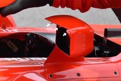 Ferrari SF71H mirrors