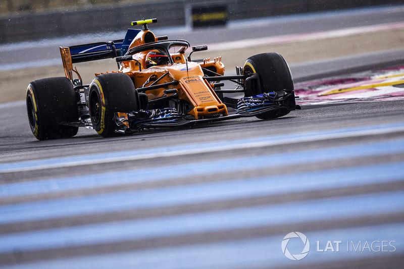 15. Стоффель Вандорн, McLaren MCL33 — 8