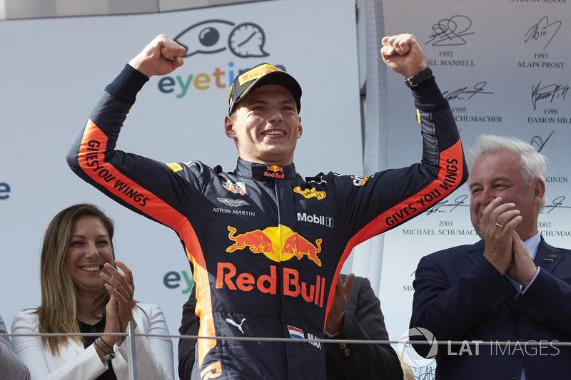 Max Verstappen - Red Bull Racing: 10