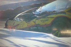 Incidenti di Andrea Palma, Lamborghini Huracan ST