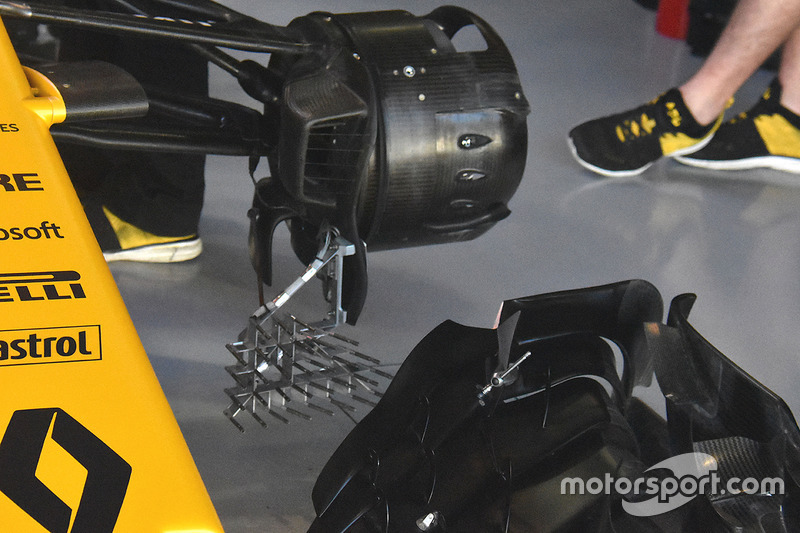 Renault Sport F1 Team RS17 aero device