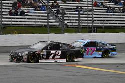 Cole Whitt, TriStar Motorsports Chevrolet, Ricky Stenhouse Jr., Roush Fenway Racing Ford
