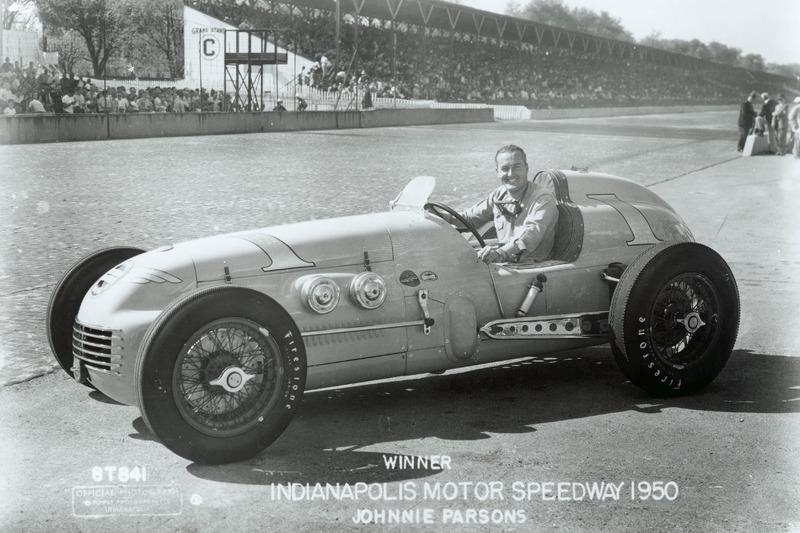 Johnnie Parsons (Kurtis Kraft) - Indy 500 1950