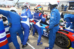 #32 SMP Racing BR 01 Nissan : Stefano Coletti, Julian Leal, Andreas Wirth pilot change
