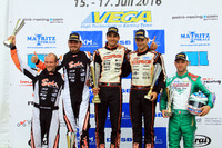 DSKM Rennen 2: 1. Paolo De Conto; 2. Anthony Abasse; 3. Jorrit Pex; 4. Bas Lammers; 5. Marco Ardigo