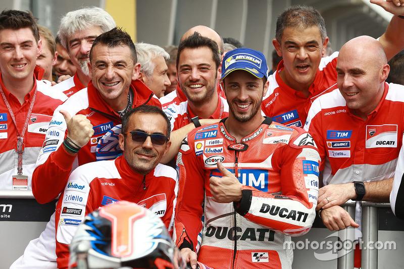 3. Platz: Andrea Dovizioso, Ducati Team