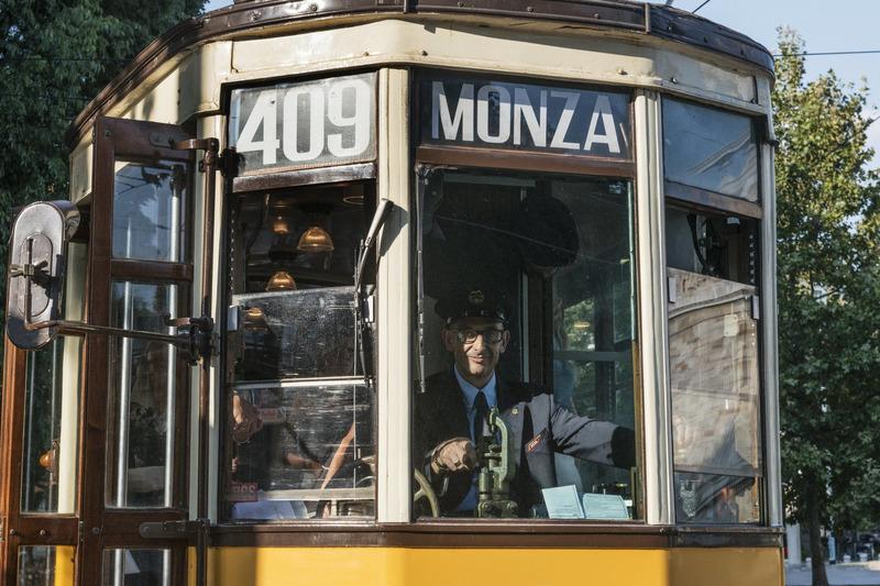 Tarihi Milano tramvayı