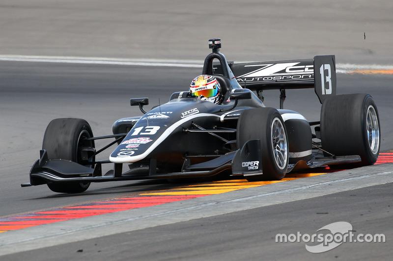 Zachary Claman de Melo, Juncos Racing